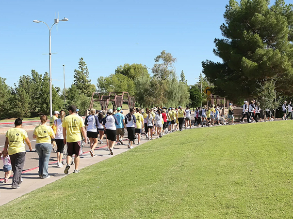 Walk the Walk: AZ Oral Cancer Walk that is!