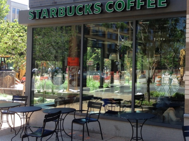 Starbucks Bans Patio Smoking!